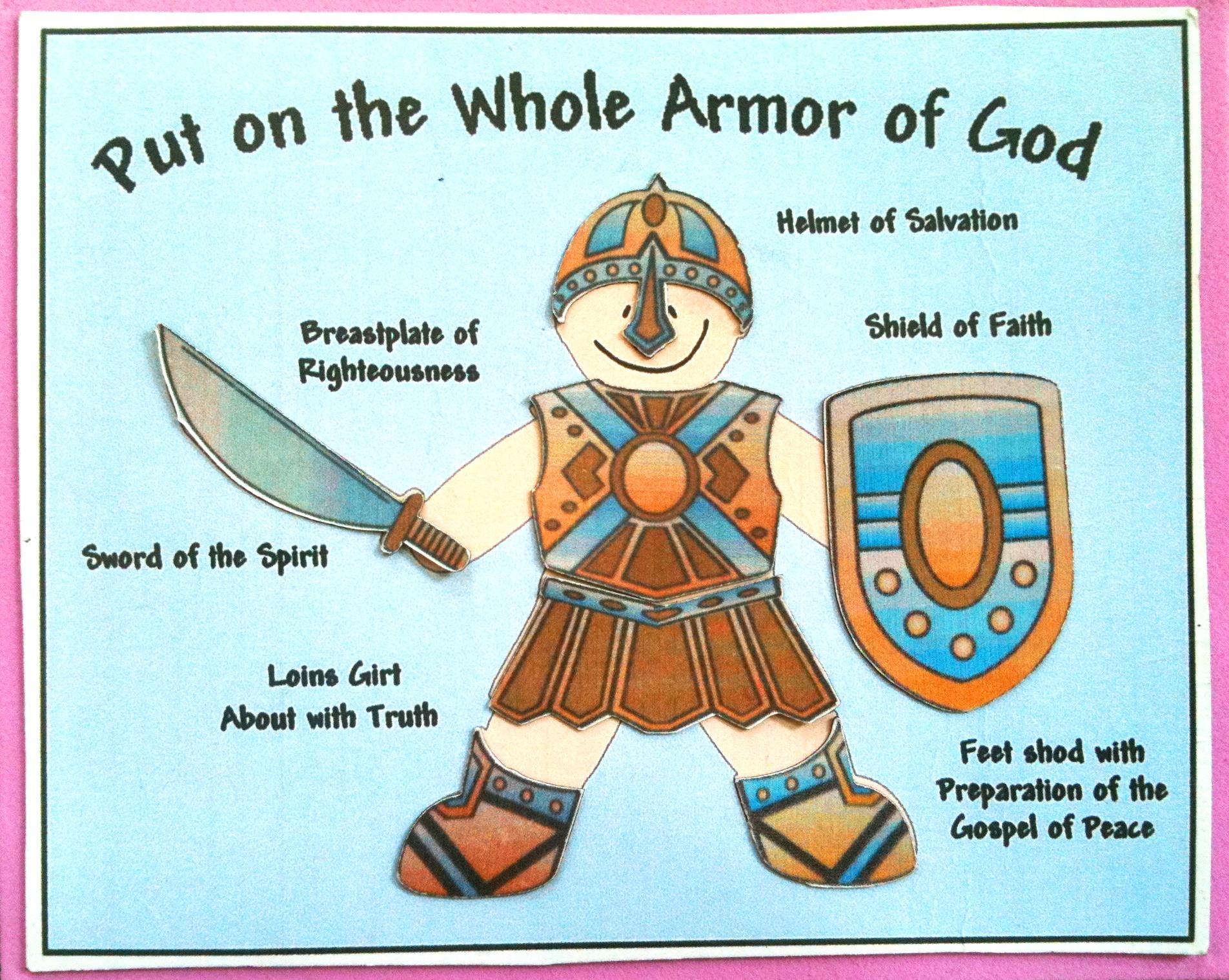 Armor Of God Kids Song